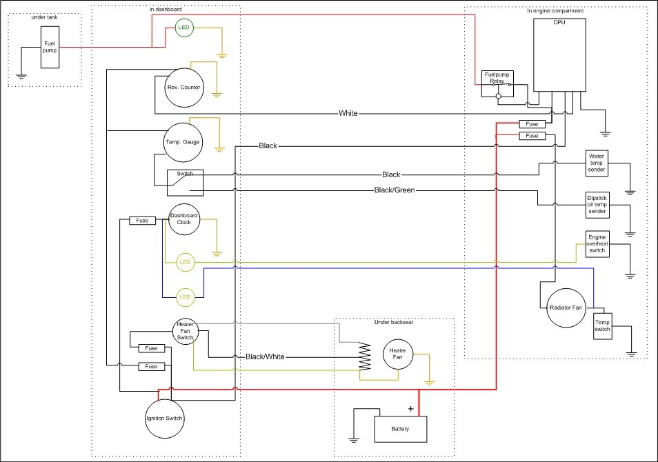Faria Outboard Tachometer Wiring Diagrams - Wiring Diagrams on